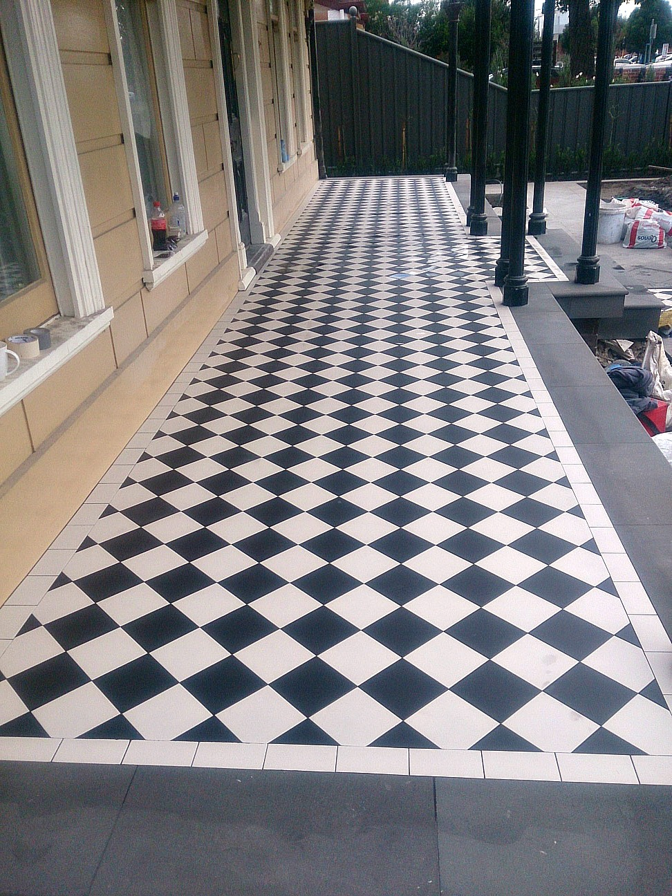 Tessellated Tiles Federation Tiles Art Deco Victorian