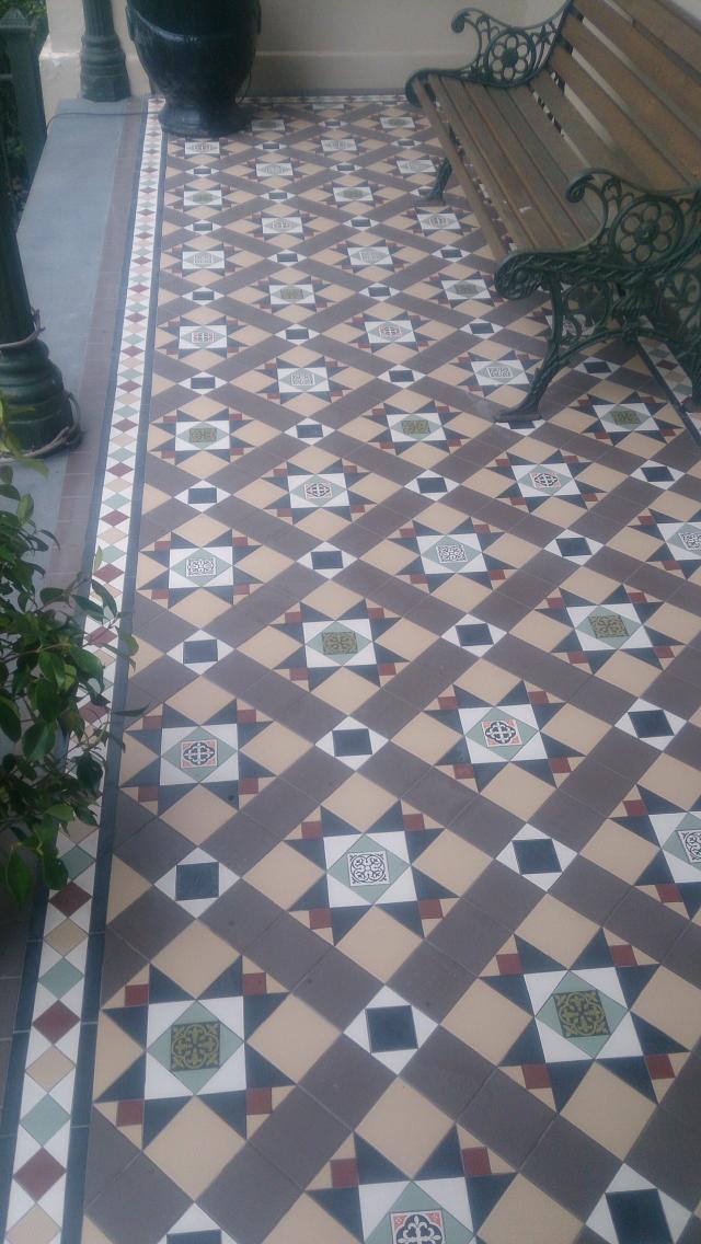 Federation Tiling Melbourne Victorian Mosaic Tiling