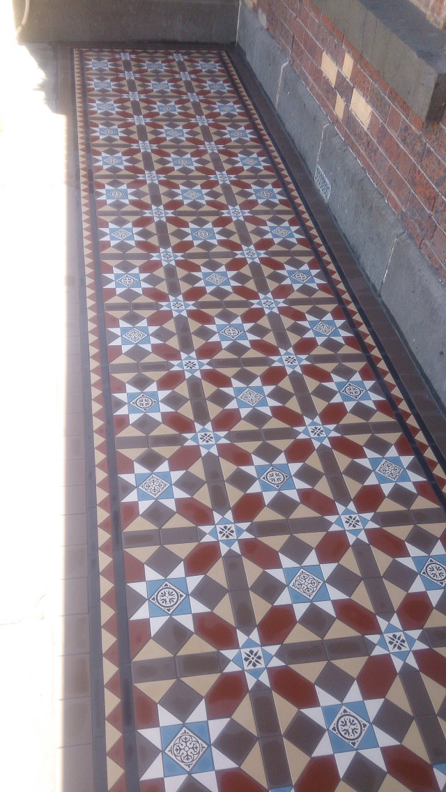 Old English Tiles Melbourne Victorian Mosaic Tiling