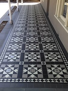 Tessellated Tiling Melbourne Victorian Mosaic Tiling